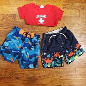 Gymboree bathing suits for 18 month